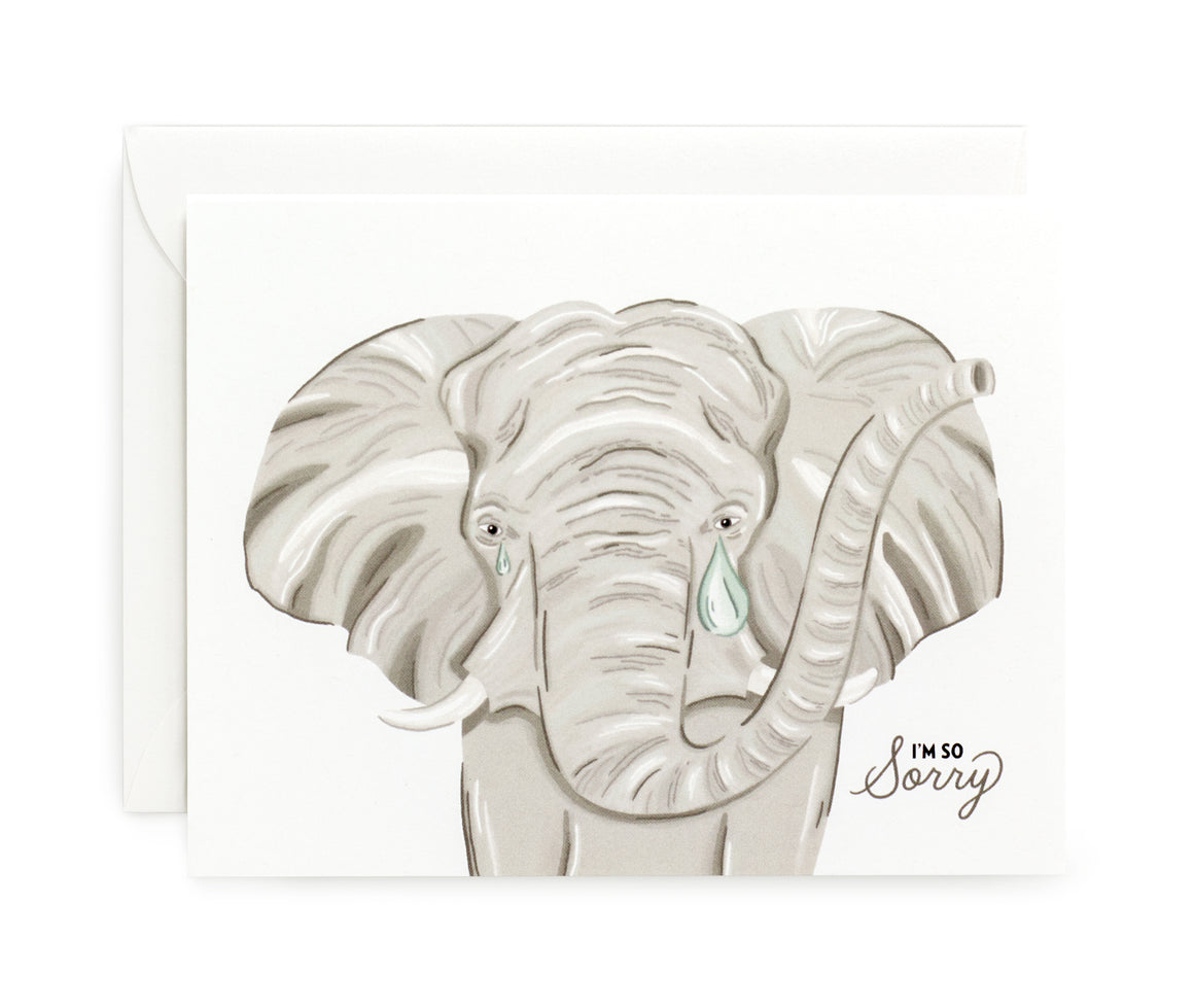 Elephant Tears Card