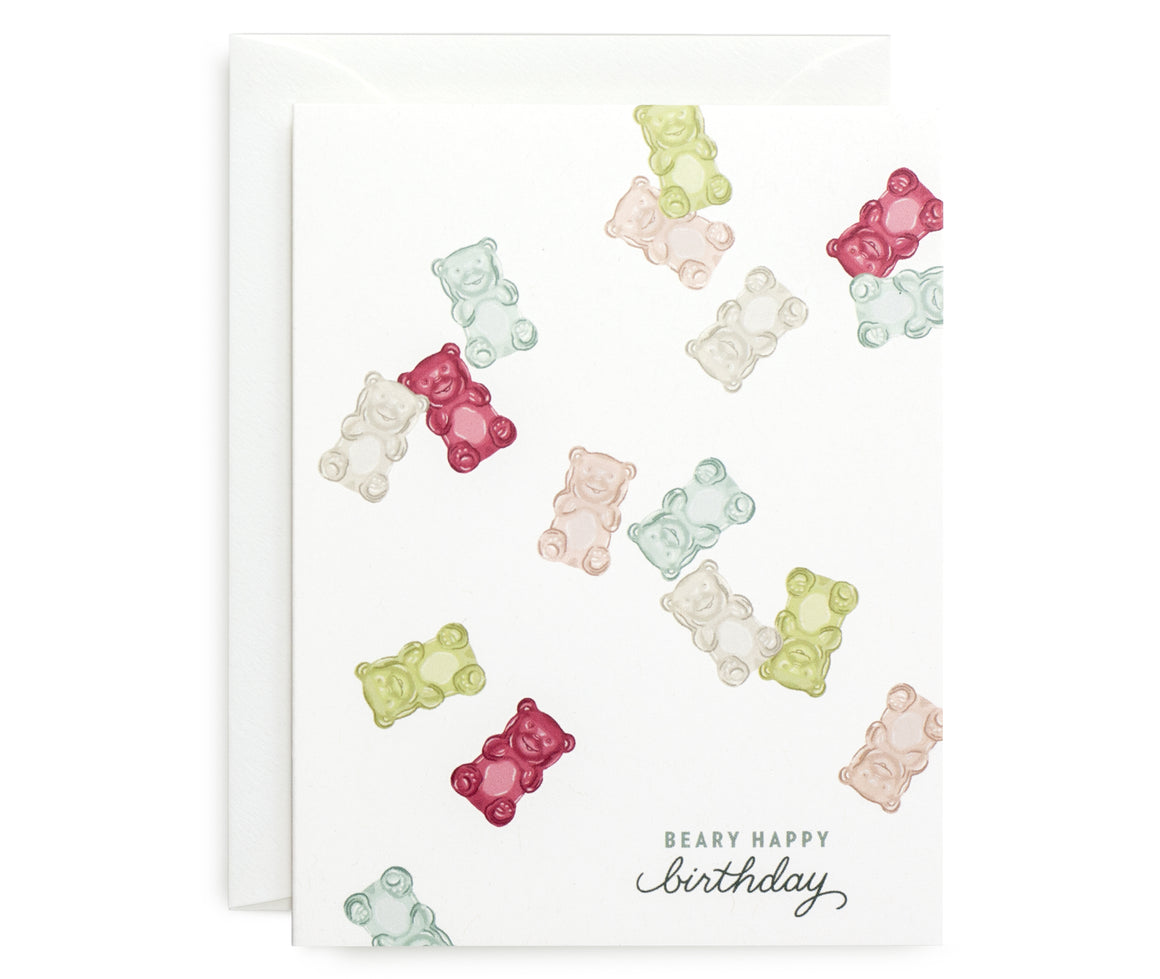 Beary Happy Card