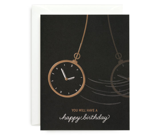 Hypnotic Birthday Card