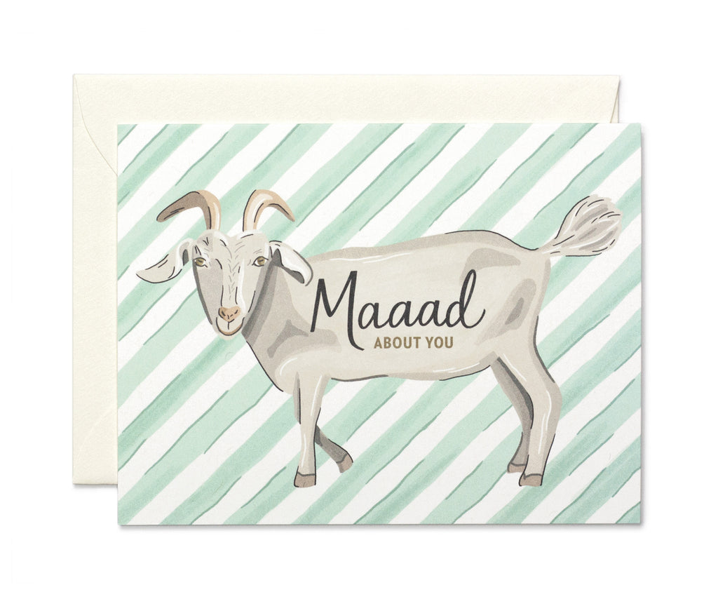 M-a-a-a-d About You Card