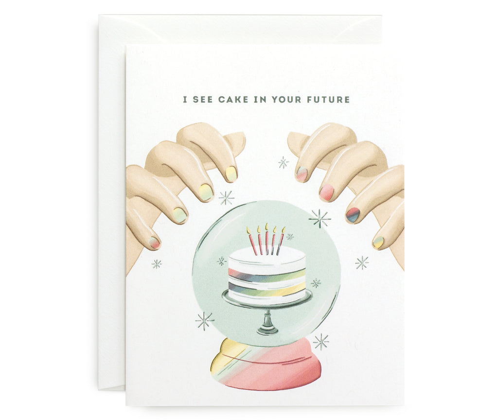 Cake In Your Future Card