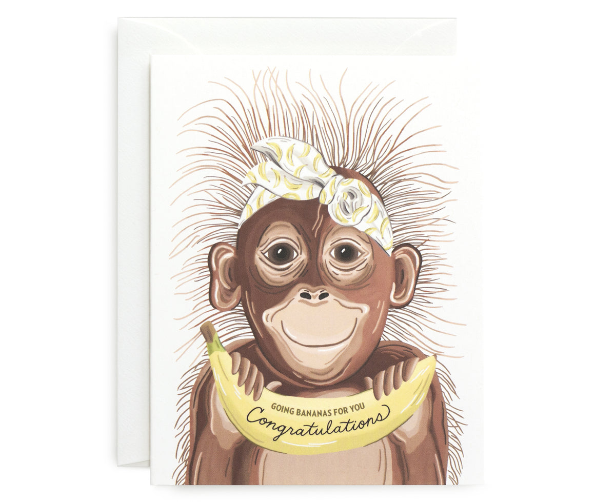 Going Bananas Card