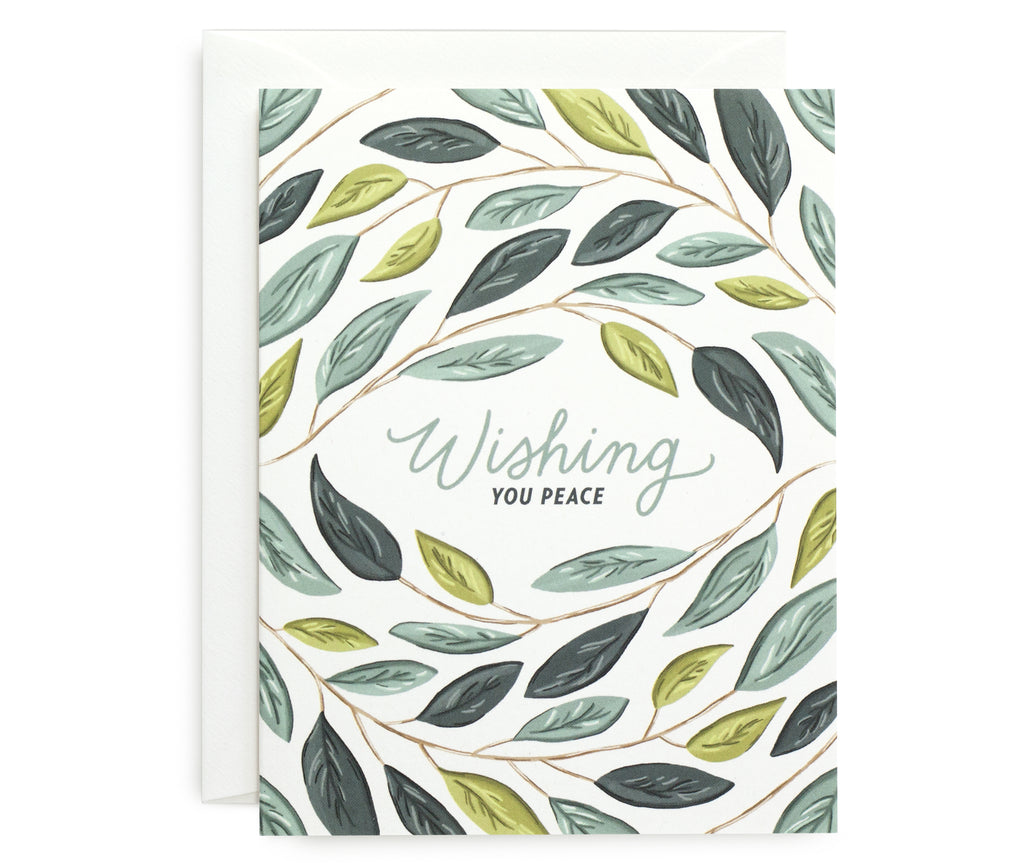 Wishing Peace Card