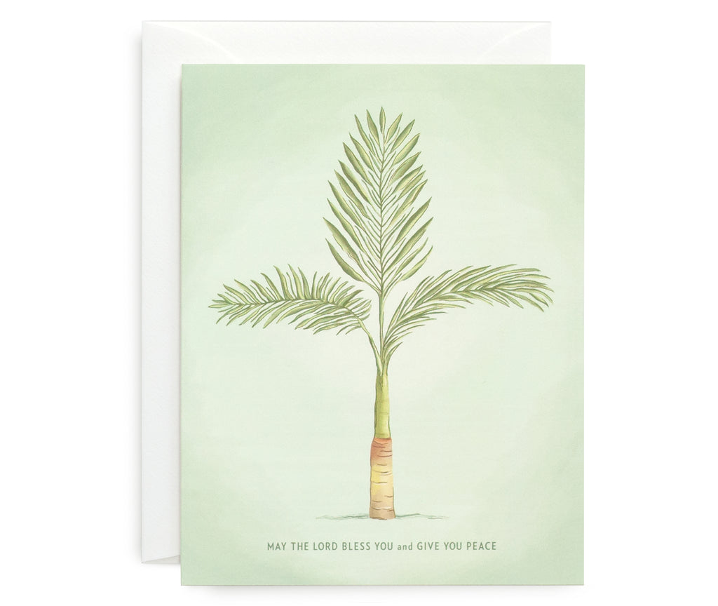 Peace Palm Card