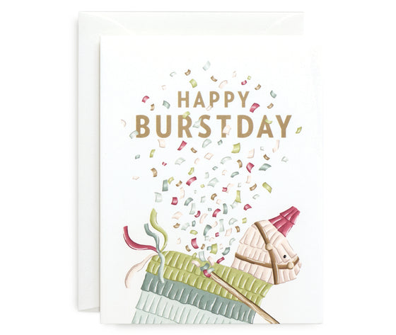 Happy Burstday Card