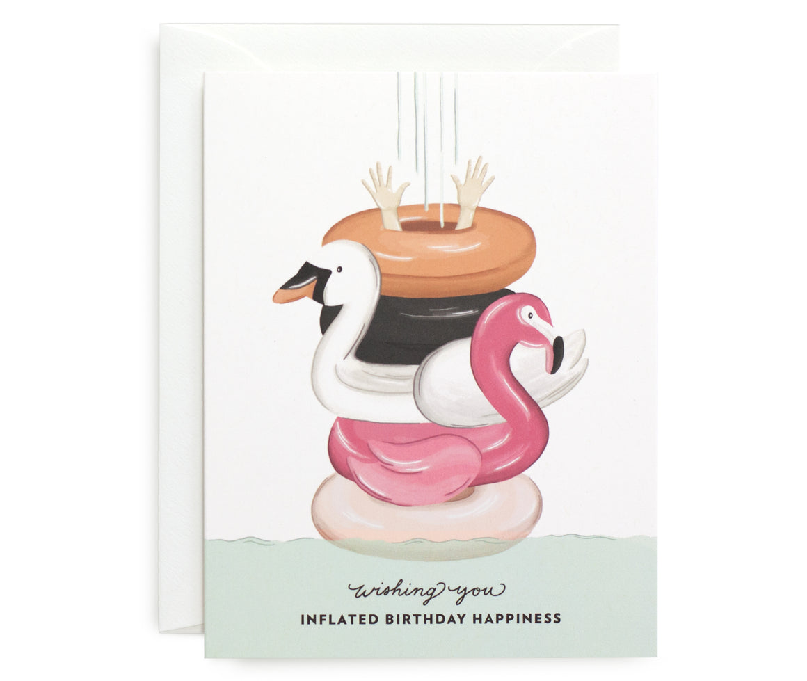 Inflated Birthday Card