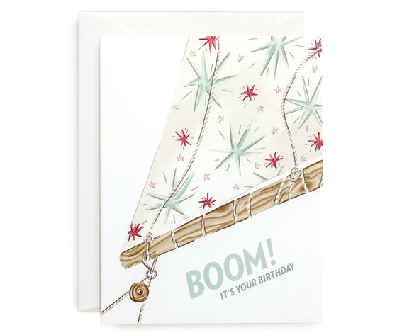 Boom It's Your Birthday Card