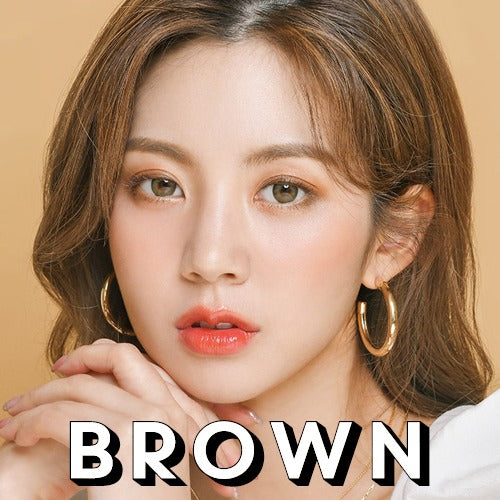 Brown Color Lens