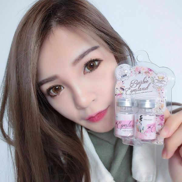 Funky Brown 16.5mm Contact Lens Malaysia Online Murah- Barbie Eyesland