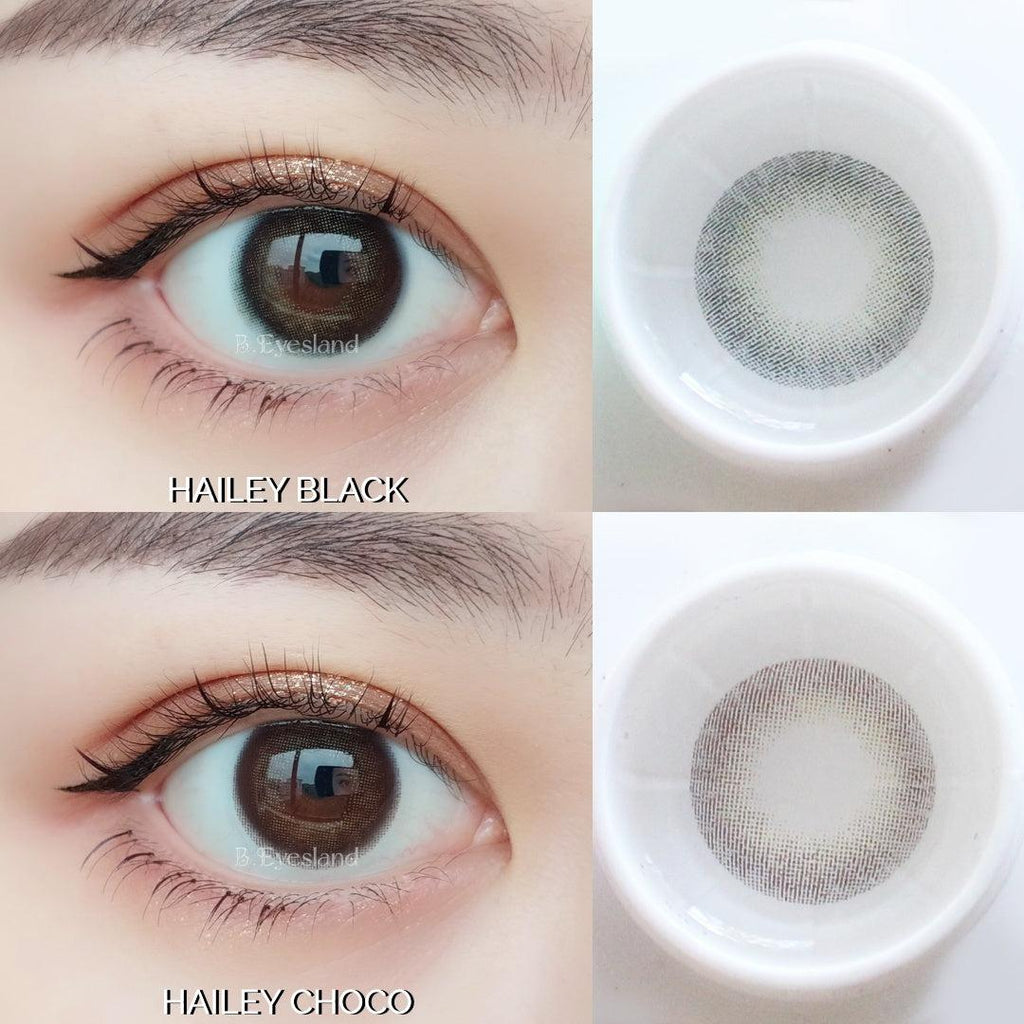 Evia Black 14mm-Contact Lenses-Barbie Eyesland Contact lens