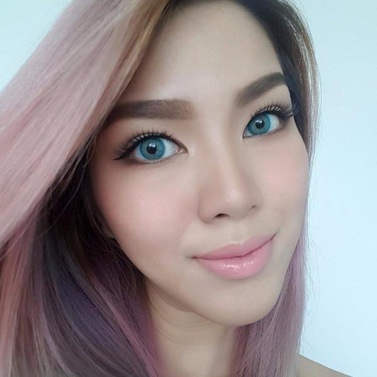 Amaze.i JADE OCEAN BLUE 14mm-Premium Contact Lenses-Barbie Eyesland Contact lens