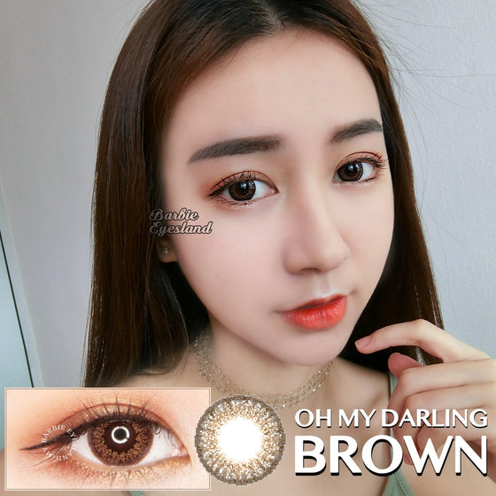 Oh My Darling BROWN 15mm