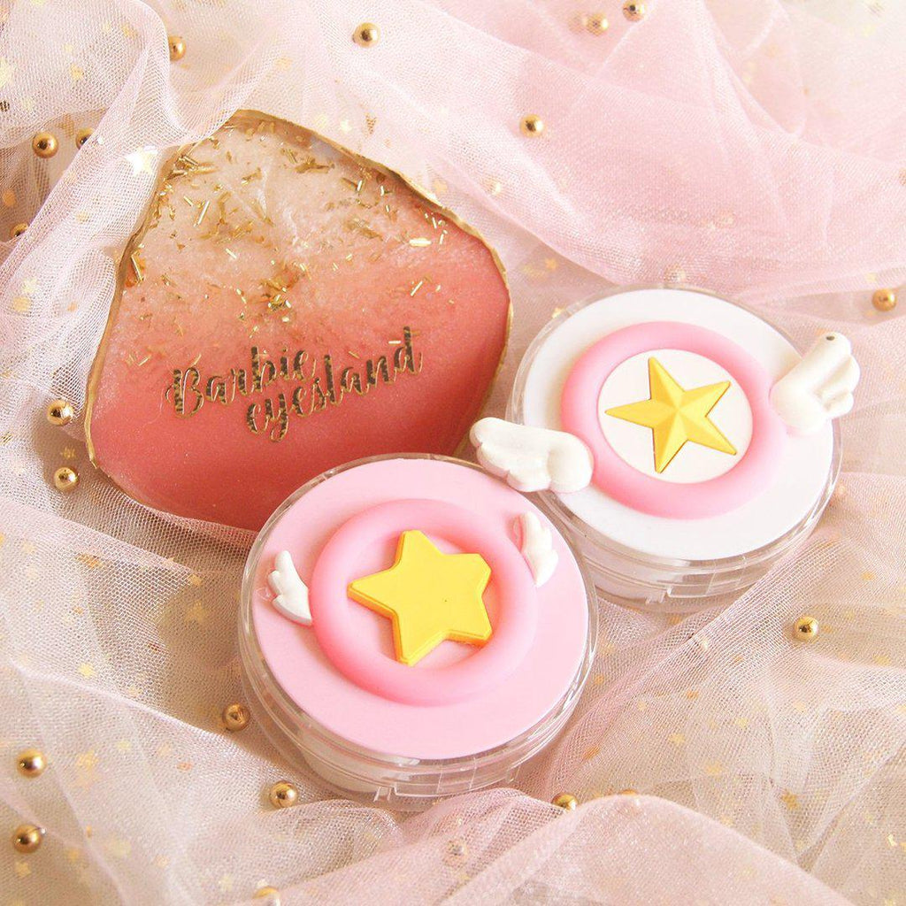 Cardcaptor Sakura Wing Design Lens Case Set (Random Color)