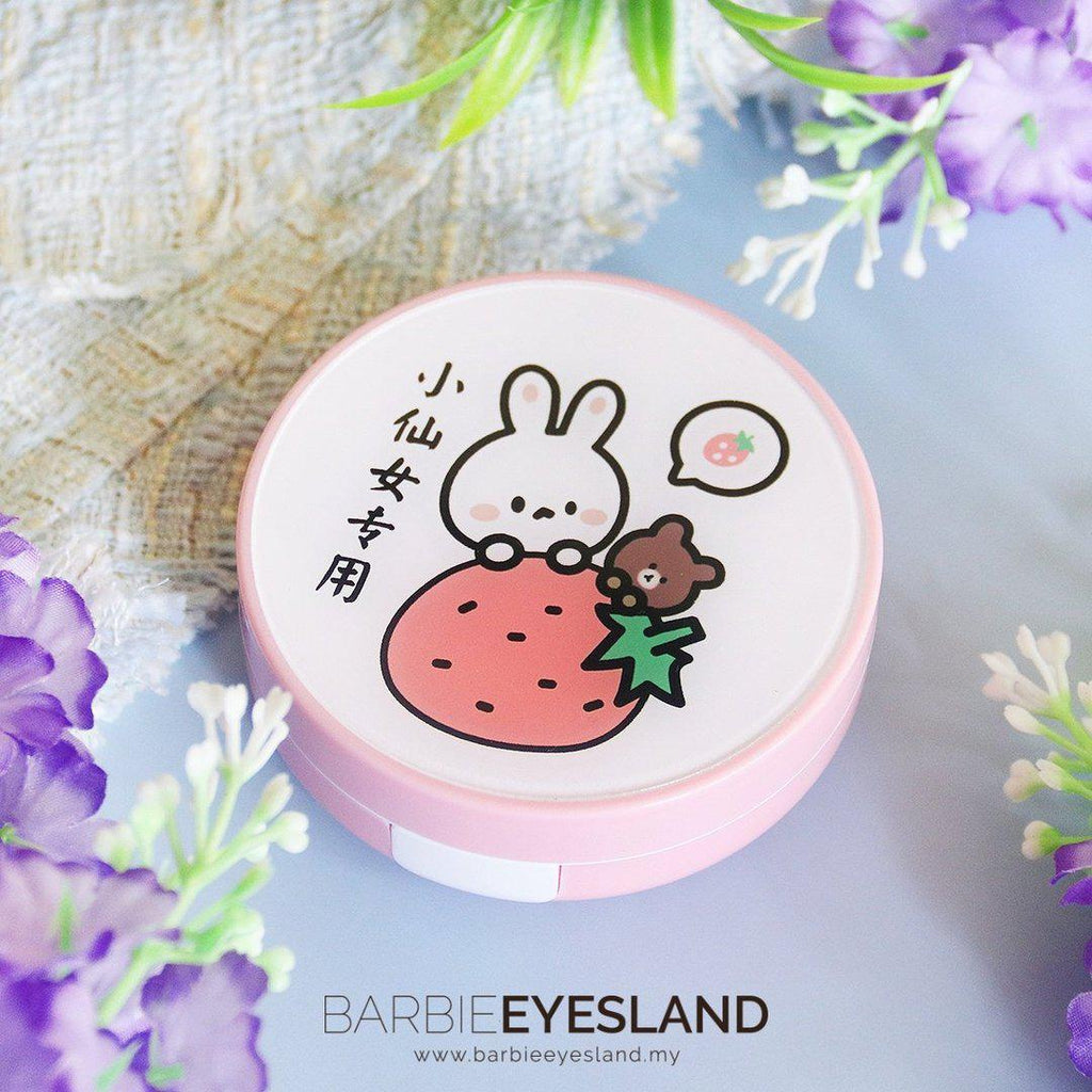 Rabbit Bear Design Round Lens Case Set *Random Design