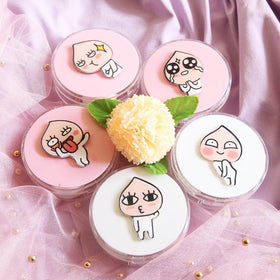 Cartoon Design 02 Lens Case *Round(Random Color)