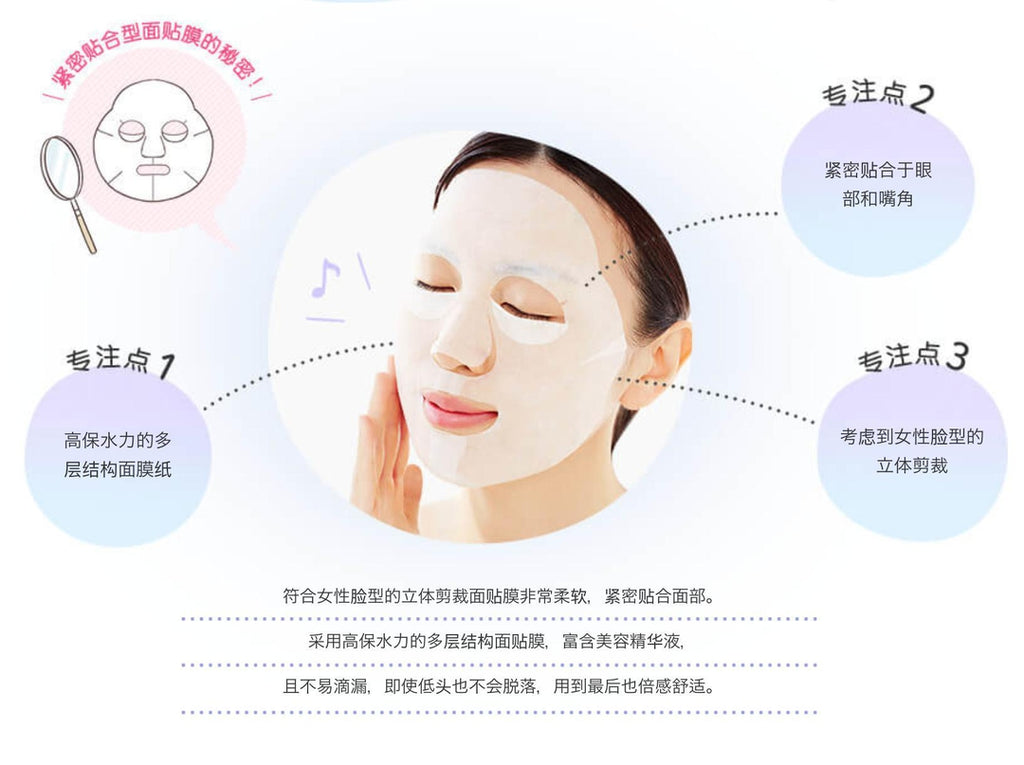 Mandom Beauty Barrier Repair Facial Mask *5Sheets-Beauty Products-Barbie Eyesland Contact lens