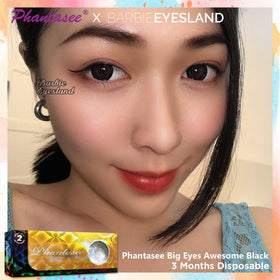 Phantasee Big Eyes Awesome Black