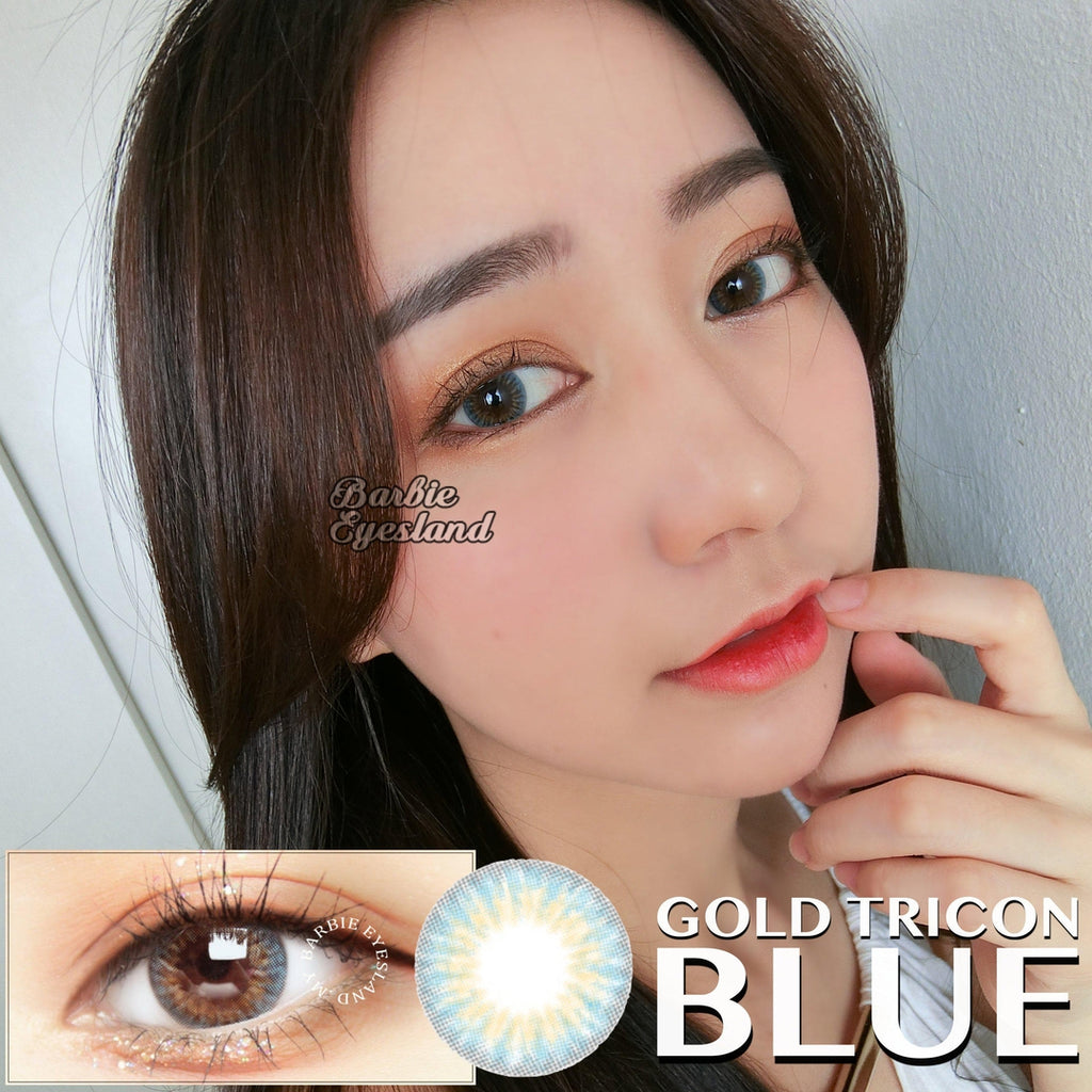 Gold Tricon Blue 14.2mm