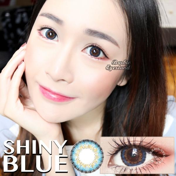 Shiny Blue 14.5mm-Contact Lenses-Barbie Eyesland Contact lens