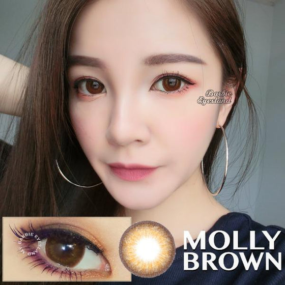 Molly Brown 16.5mm-Contact Lenses-Barbie Eyesland Contact lens