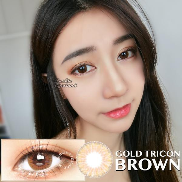 Gold Tricon Brown 14.2mm
