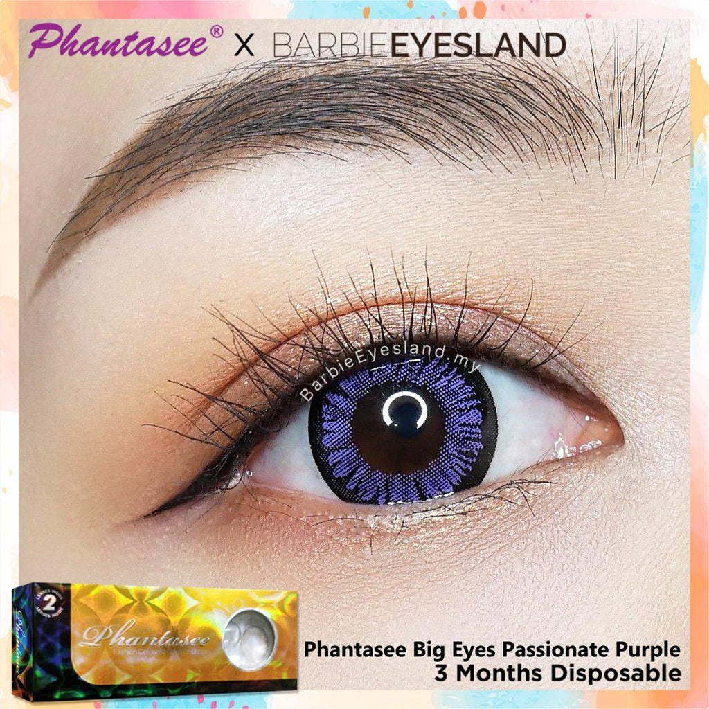 Phantasee Big Eyes Passionate Purple