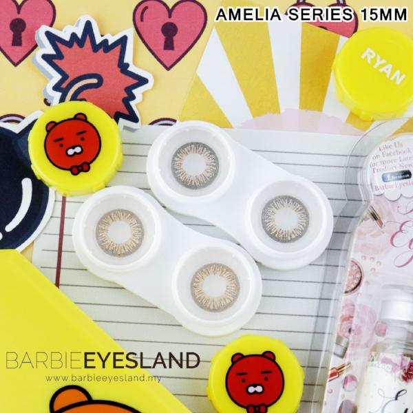 Amelia Grey 15mm-Contact Lenses-Barbie Eyesland Contact lens