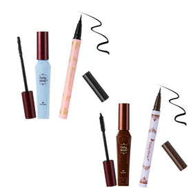 Dolly Wink Mascara x Liquid Eyeliner Limited Set *Black / Brown-Beauty Products-Barbie Eyesland Contact lens