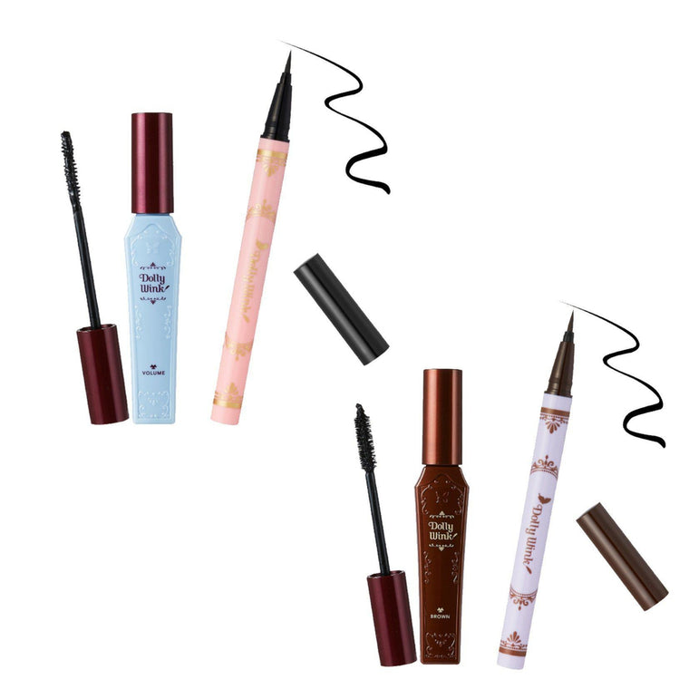 Dolly Wink Mascara x Liquid Eyeliner Limited Set *Black / Brown