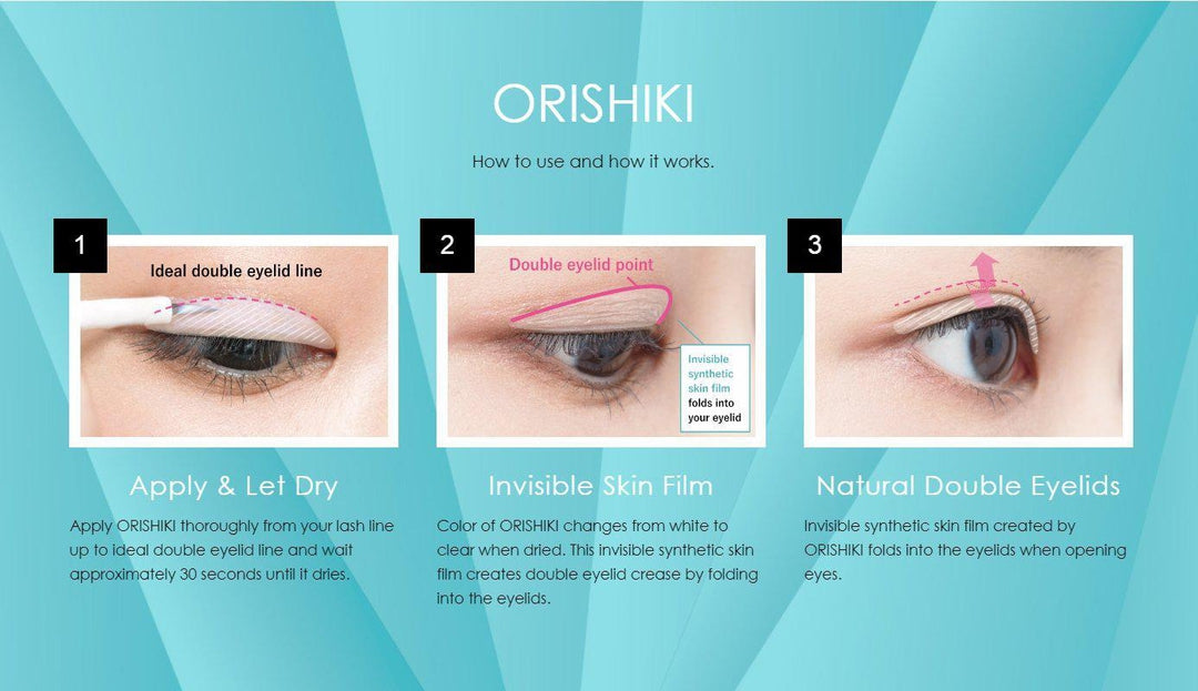 7e3840ff723f Dup ORISHIKI Quick Double Eyelid Skin Film Glue 4ml - Barbie Eyesland