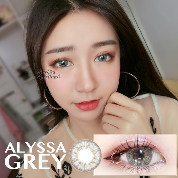Alyssa GREY 16mm-Contact Lenses-Barbie Eyesland Contact lens