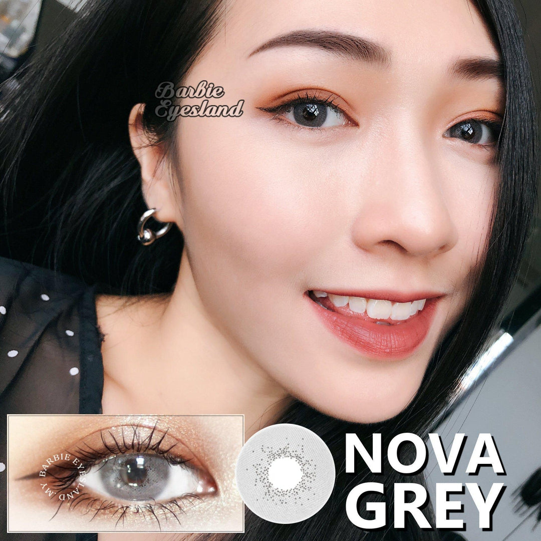 Nova Grey 14mm-Contact Lenses-Barbie Eyesland Contact lens