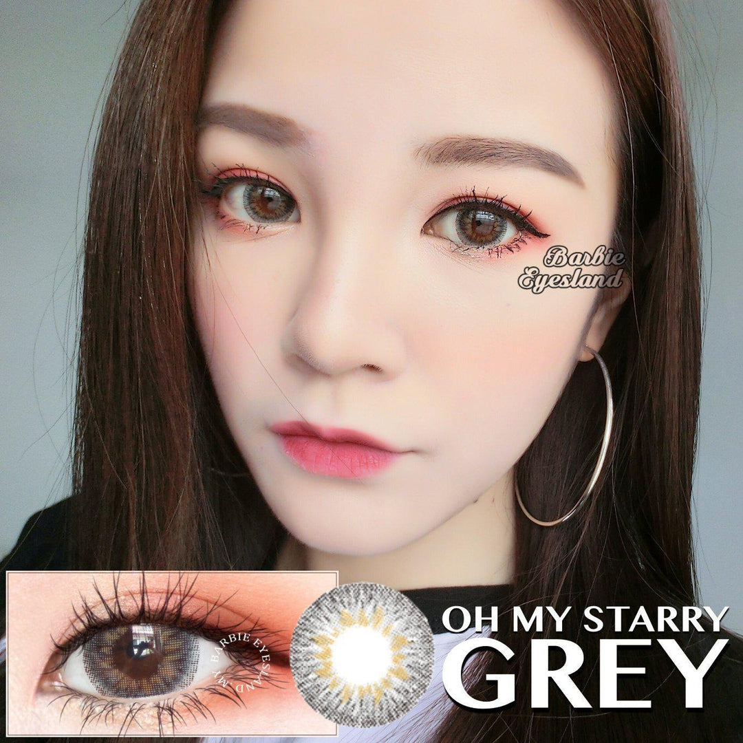 Oh My Starry Grey 15mm