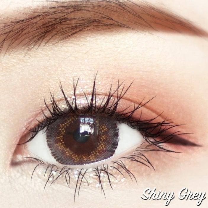 Shiny Grey 14.5mm-Contact Lenses-Barbie Eyesland Contact lens
