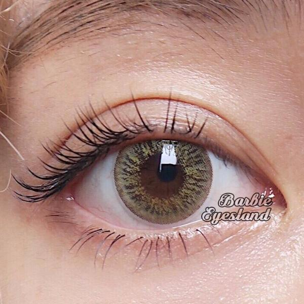 Alyssa BROWN 16mm-Contact Lenses-Barbie Eyesland Contact lens