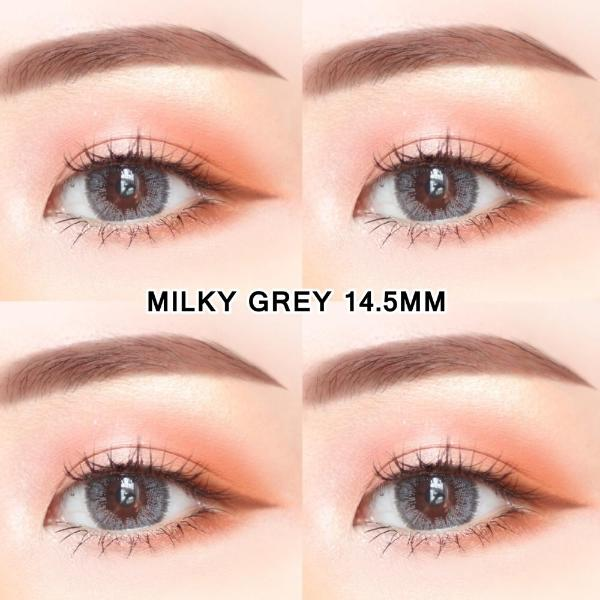 Milky Grey 14.5mm-Contact Lenses-Barbie Eyesland Contact lens