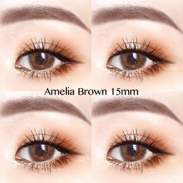 Amelia brown 15mm