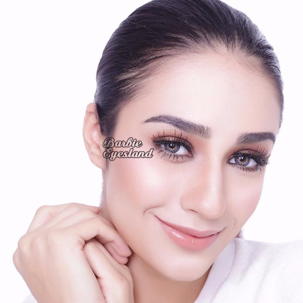 Eclipse Grey 14mm MICACON-Premium Contact Lenses-Barbie Eyesland Contact lens