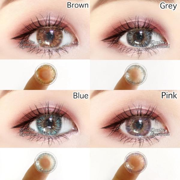 Fantasy Grey 15mm-Contact Lenses-Barbie Eyesland Contact lens