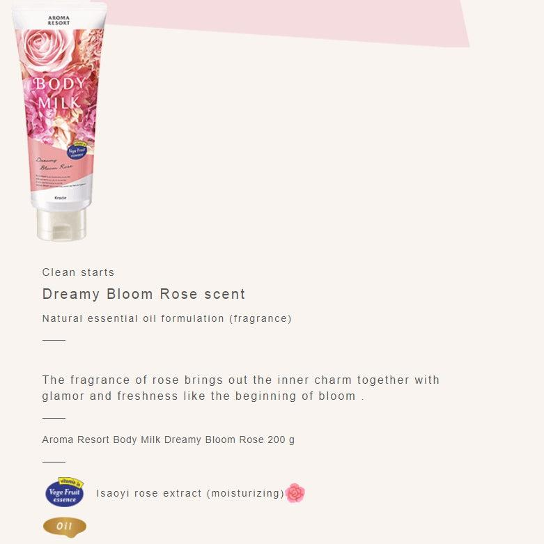 Kracie Aroma Resort Body Milk Moisture Cream 200g-Beauty Products-Barbie Eyesland Contact lens
