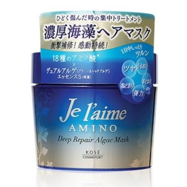 Kose Cosmeport Je l'aime Deep Repair Algae Hair Mask 200g
