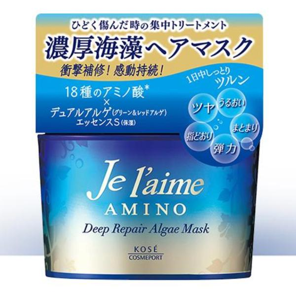 Kose Cosmeport Je l'aime Deep Repair Algae Hair Mask 200g-Beauty Products-Barbie Eyesland Contact lens