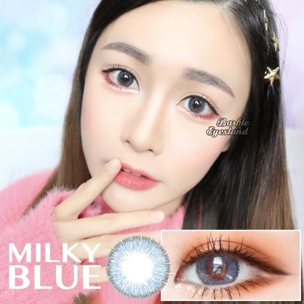 Milky Blue 14.5mm-Contact Lenses-Barbie Eyesland Contact lens
