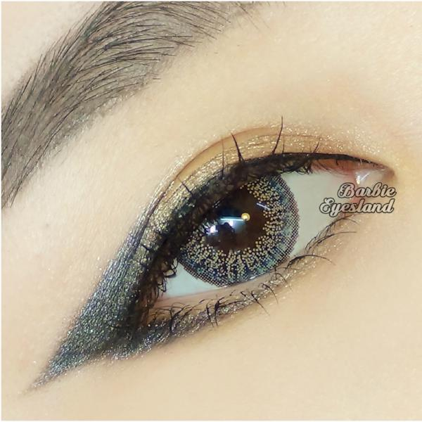 Oh My Darling GREY 15mm-Contact Lenses-Barbie Eyesland Contact lens