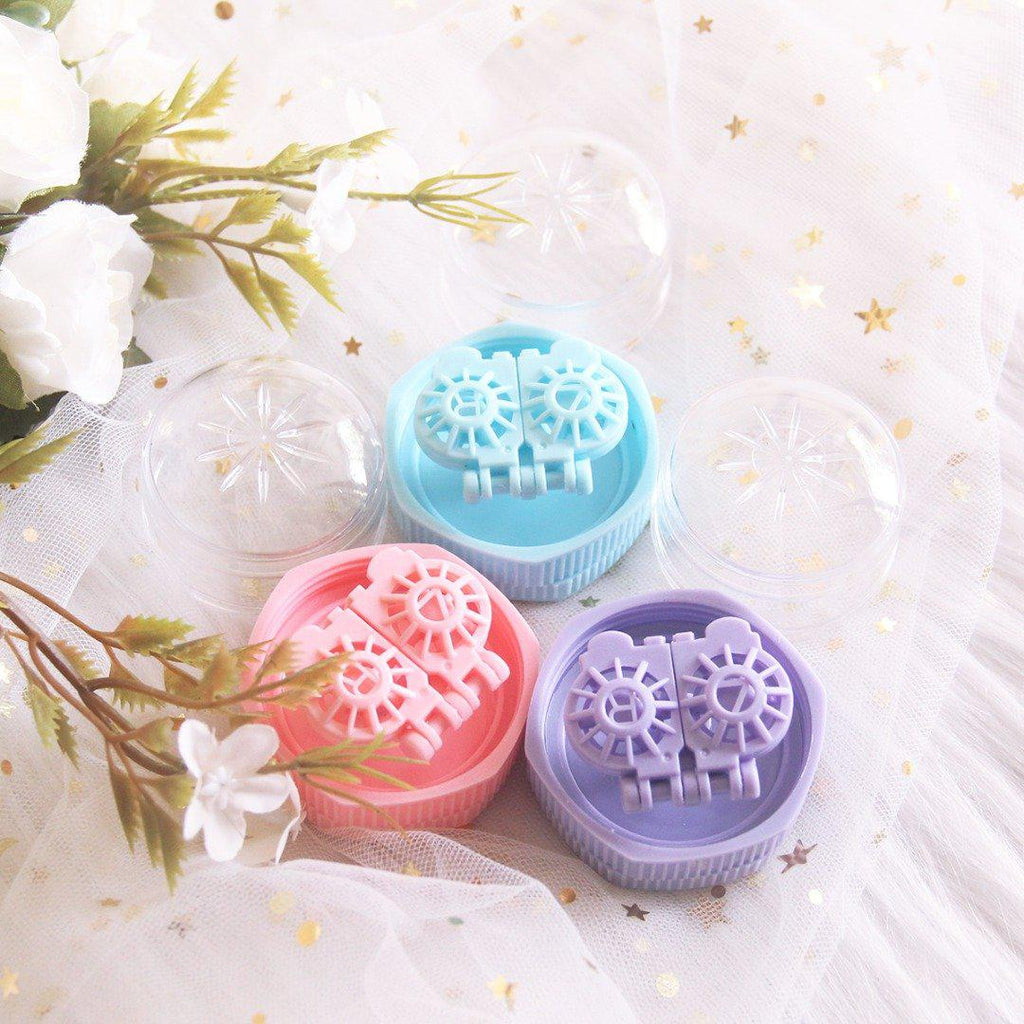 Manual Wash Lens Case Set (Random Color)