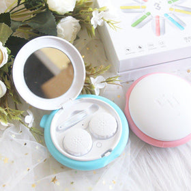 3N Mini Contact Cleaning Lens Case Set