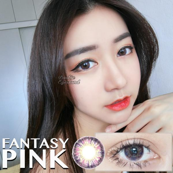 Fantasy Pink 15mm (15.5mm)-Contact Lenses-Barbie Eyesland Contact lens