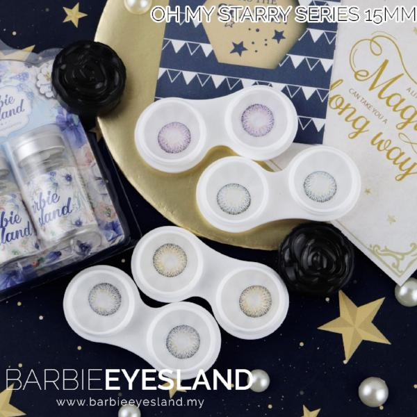 Oh My Starry Blue 15mm