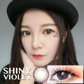 Shiny Violet 14.5mm-Contact Lenses-Barbie Eyesland Contact lens