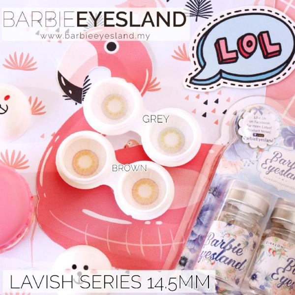 Lavish Brown 14.5mm-Contact Lenses-Barbie Eyesland Contact lens